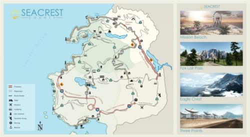 Mappe de Seacrest County